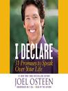 I Declare (MP3): 31 Promises to Speak Over Your Life