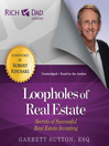 Rich Dad Advisors: Loopholes of Real Estate (MP3)