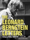 The Leonard Bernstein Letters (MP3)