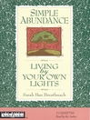 Simple Abundance (MP3): Living by Your Own Lights