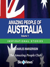 Amazing People of Australia - Volume 1 (MP3): Inspirational Stories