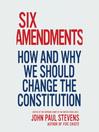 Six Amendments (MP3)