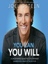 You Can, You Will (MP3)