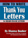 How to Write Thank You Letters (eBook): 84 Ready-to-Use Letters