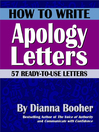How to Write Apology Letters (eBook): 57 Ready-to-Use Letters