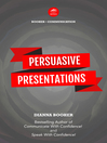 Persuasive Presentations (eBook)