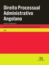 Direito Processual Administrativo Angolano (eBook)