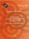 Direito Administrativo Objetivo (eBook): Teoria e Questões