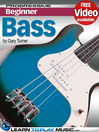Bass Guitar Lessons for Beginners (eBook): Teach Yourself How to Play Bass Guitar