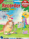 Cover image of Recorder Lessons for Kids, Book 1