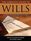 The Complete Guide to Wills (eBook): What You Need to Know Explained Simply