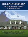 The Encyclopedia of Real Estate Forms & Agreements (eBook): A Complete Kit of Ready-To-Use Checklists, Worksheets, Forms, and Contracts