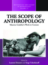 The Scope Of Anthropology (eBook): Maurice Godeliers Work in Context