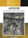 anyone (eBook): The Cosmopolitan Subject of Anthropology