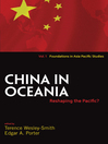 China in Oceania (eBook): Reshaping the Pacific?