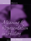 Meaning and Representation in History (eBook)