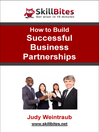 How to Build Successful Business Partnerships (eBook)
