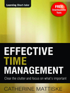 Effective Time Management (eBook)