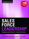 Sales Force Leadership (eBook)