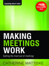 Making Meetings Work (eBook)