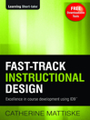 Fast-Track Instructional Design (eBook)