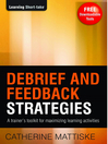 Debrief and Feedback Strategies (eBook)