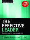 The Effective Leader (eBook): Skills and Tools for Inspired Leadership