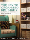 The Key To Organized Simplicity (eBook)
