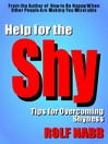 Help for the Shy (eBook): Tips for Overcoming Shyness