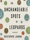 The Unchangeable Spots of Leopards (MP3)