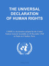 THE UNIVERSAL DECLARATION OF HUMAN RIGHTS (eBook)