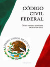 CÓDIGO CIVIL FEDERAL (eBook)
