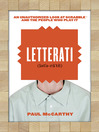 Letterati (eBook): An Unauthorized Look at Scrabble and the People Who Play It