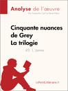 Cinquante nuances de Grey de E. L. James--La trilogie (Fiche de lecture) (eBook): Comprendre la littérature avec lePetitLittéraire.fr