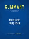Summary (eBook): Inevitable Surprises--Peter Schwartz