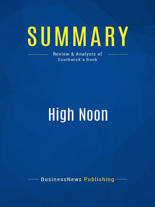 Summary (eBook): High Noon--Karen Southwick