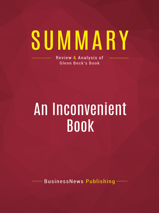 Summary of an Inconvenient Book (eBook): Real Solutions to the World's Biggest Problems