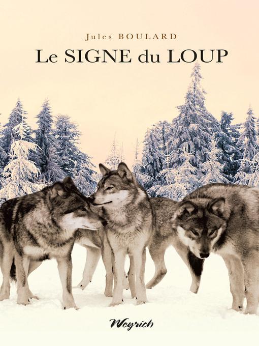Le signe du loup (eBook)