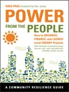 Power from the People (eBook): How to Organize, Finance, and Launch Local Energy Projects