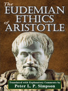 The Eudemian Ethics of Aristotle (eBook)