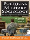 The Social Implications of National Defense (eBook)