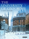 The University of Oxford (eBook): A New History