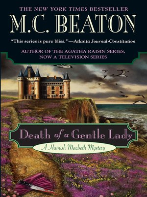 Click this cover for a(n) eBook sample of Death of a Gentle Lady
