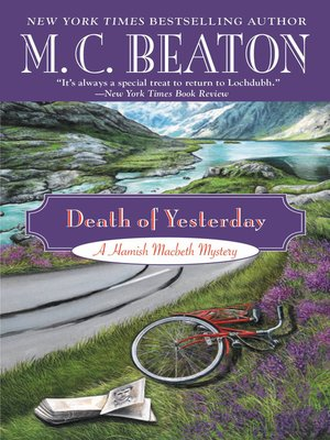 Click this cover for a(n) eBook sample of Death of Yesterday