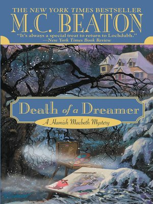 Click this cover for a(n) eBook sample of Death of a Dreamer