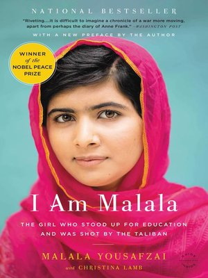 Click this cover for a(n) eBook sample of I Am Malala.