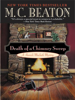 Click this cover for a(n) eBook sample of Death of a Chimney Sweep.