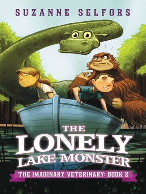 Click this cover for a(n) eBook sample of The Lonely Lake Monster