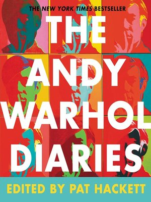 Click this cover for a(n) eBook sample of The Andy Warhol Diaries