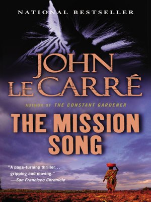 Click this cover for a(n) eBook sample of The Mission Song.